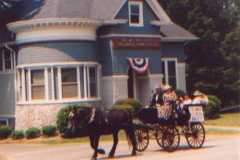 Columbia Historical Society in the Fourth of July Parade