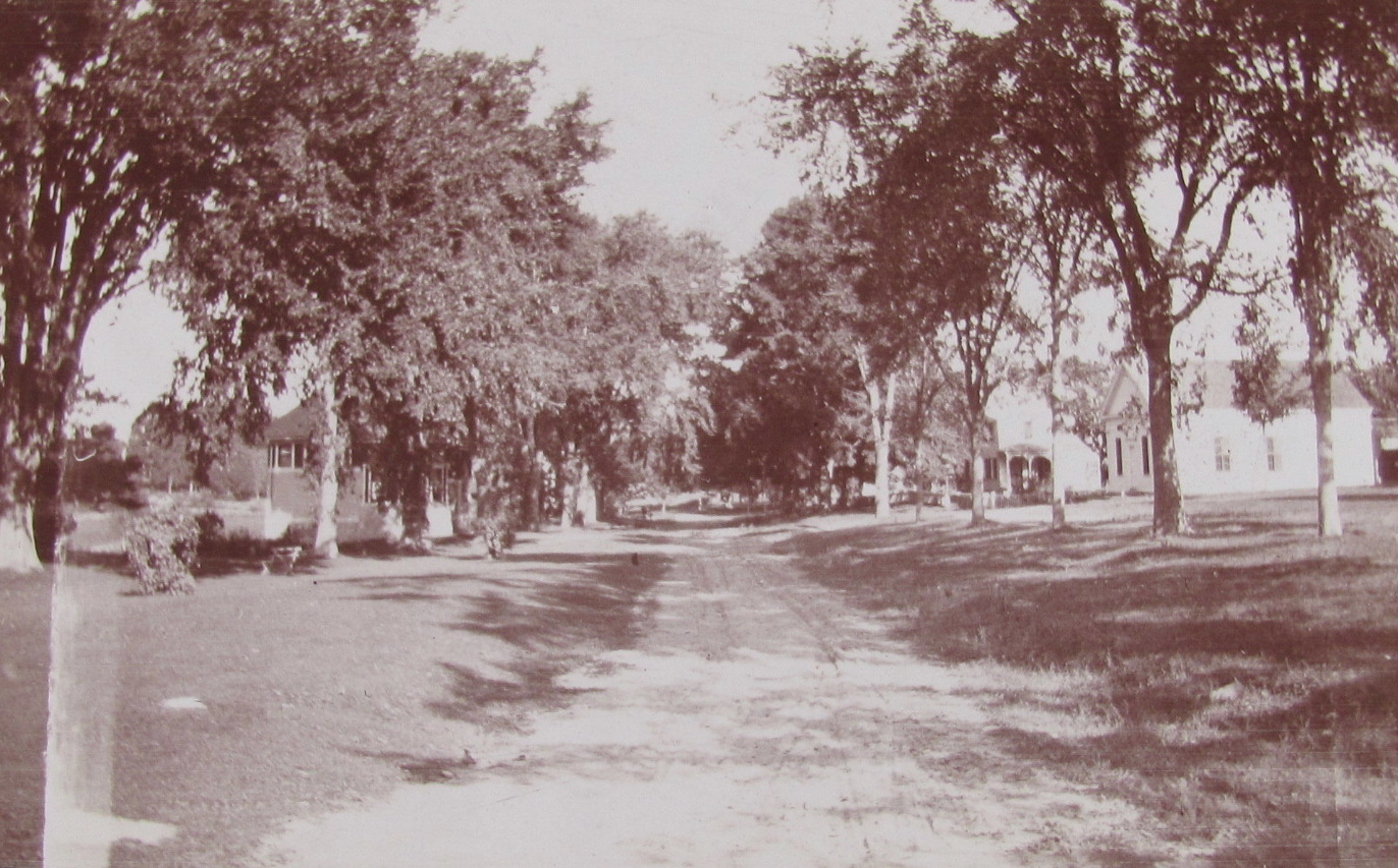 Columbia Green looking North 1904